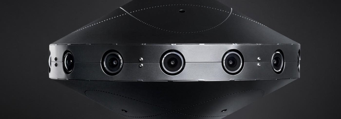 Videocámara de 360 grados