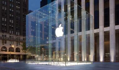 Apple en la Quinta Avenida de Nueva York