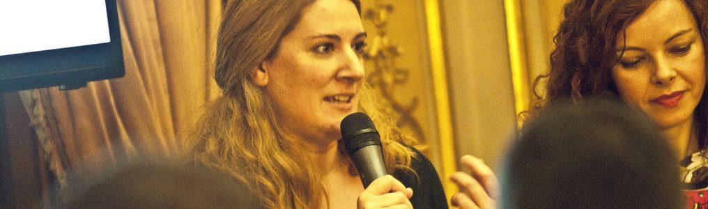 """Ana Ormaechea """"En Estados Unidos el podcast es el medio de vida de mucha gente"""""""