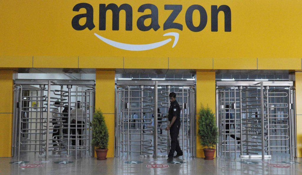 Entrada de Amazon