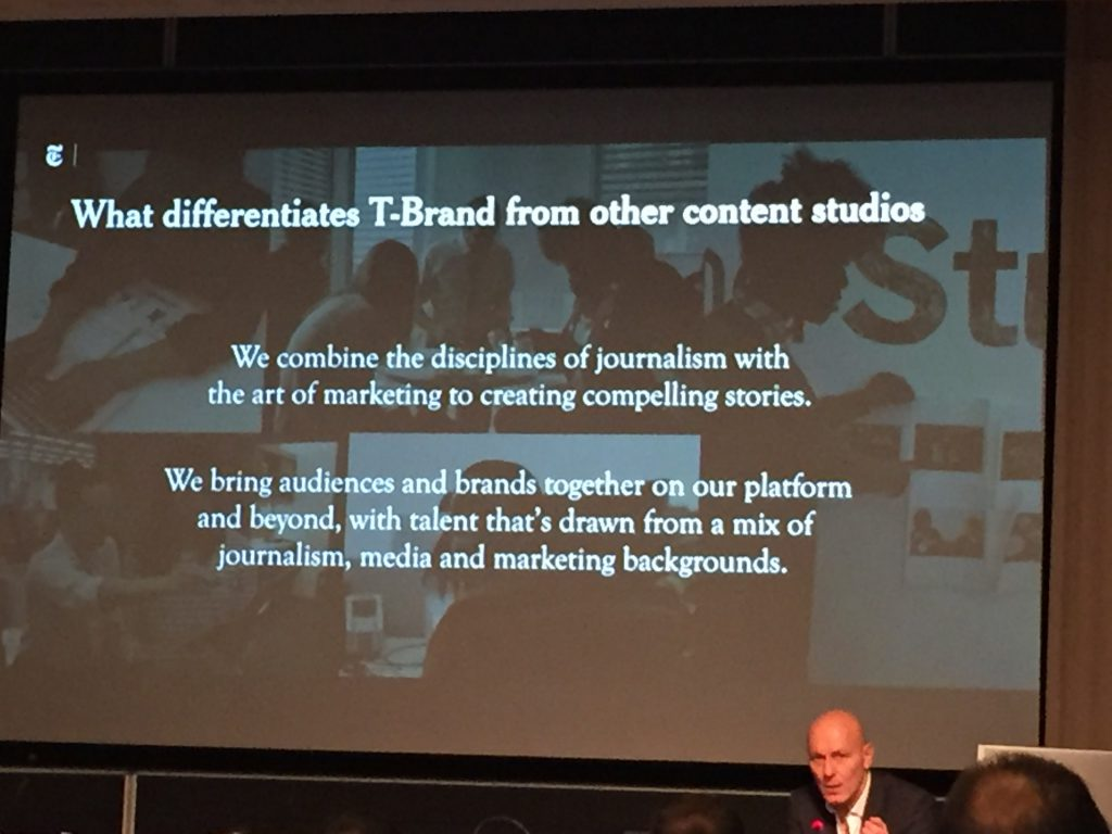 Las principales características que diferencian T Brand Studio de otros proyectos