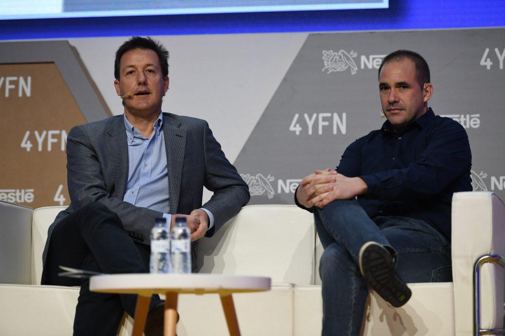 Xavier Sánchez (ESADE) y Jacinto Roca (Rakuten)